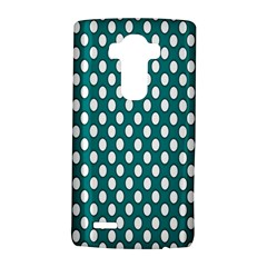 Circular Pattern Blue White Lg G4 Hardshell Case by AnjaniArt