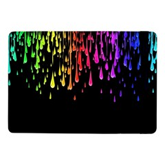Color Rainbow Samsung Galaxy Tab Pro 10 1  Flip Case by AnjaniArt