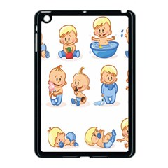 Cute Baby Picture Funny Apple Ipad Mini Case (black) by AnjaniArt