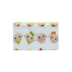 Cute Baby Picture Cosmetic Bag (xs) by AnjaniArt