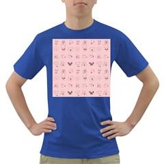 Dog Pink Dark T Shirt