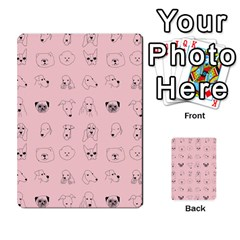 Dog Pink Multi Purpose Cards (rectangle)  by AnjaniArt