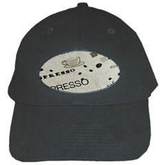Coffe Cup Black Cap