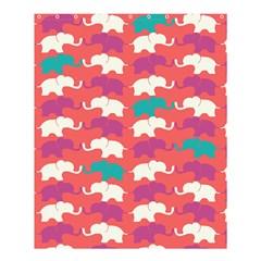 Elephant Shower Curtain 60  X 72  (medium)  by AnjaniArt