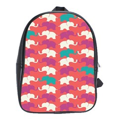 Elephant School Bags (xl)  by AnjaniArt