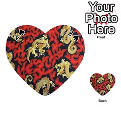 Dragon Playing Cards 54 (heart)
