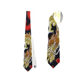 Dragon Neckties (one Side)  by AnjaniArt