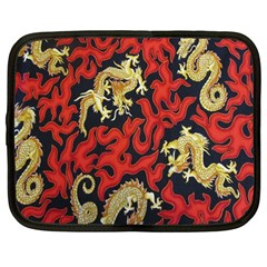 Dragon Netbook Case (large) by AnjaniArt