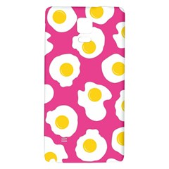 Fried Egg Galaxy Note 4 Back Case by AnjaniArt