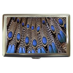 Feathers Peacock Light Cigarette Money Cases by AnjaniArt