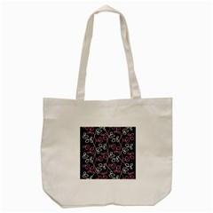 Elegance   Pink Tote Bag (cream) by Valentinaart