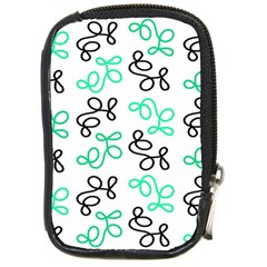 Green Elegance Compact Camera Cases by Valentinaart