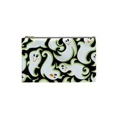 Ghosts Small Phantom Stock Cosmetic Bag (small)  by AnjaniArt