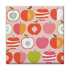 Pink Delicious Organic Canvas Face Towel by AnjaniArt