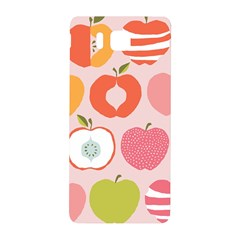 Pink Delicious Organic Canvas Samsung Galaxy Alpha Hardshell Back Case by AnjaniArt