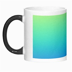 Purple Blue Green Morph Mugs