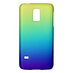 Purple Blue Green Galaxy S5 Mini by AnjaniArt