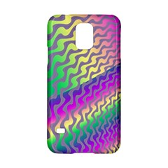 Line Colour Wiggles Samsung Galaxy S5 Hardshell Case  by AnjaniArt