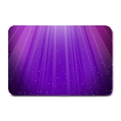Purple Colors Fullcolor Plate Mats by AnjaniArt