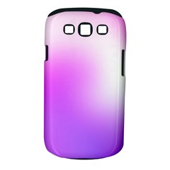 Purple White Background Bright Spots Samsung Galaxy S Iii Classic Hardshell Case (pc+silicone) by AnjaniArt