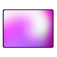 Purple White Background Bright Spots Double Sided Fleece Blanket (small)  by AnjaniArt