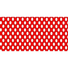 Red Circular Pattern You Are Invited 3d Greeting Card (8x4) by AnjaniArt