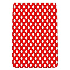 Red Circular Pattern Flap Covers (l)  by AnjaniArt