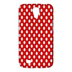 Red Circular Pattern Samsung Galaxy Mega 6 3  I9200 Hardshell Case by AnjaniArt