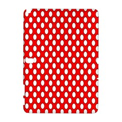 Red Circular Pattern Galaxy Note 1 by AnjaniArt