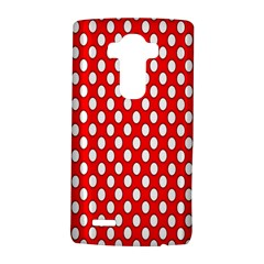 Red Circular Pattern Lg G4 Hardshell Case by AnjaniArt