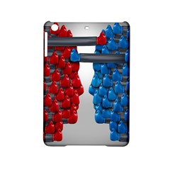 Red Boxing Gloves And A Competing Ipad Mini 2 Hardshell Cases by AnjaniArt