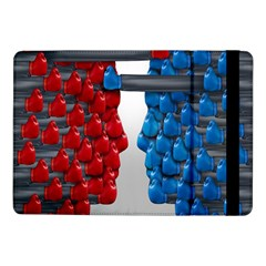 Red Boxing Gloves And A Competing Samsung Galaxy Tab Pro 10 1  Flip Case by AnjaniArt