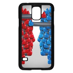 Red Boxing Gloves And A Competing Samsung Galaxy S5 Case (black) by AnjaniArt