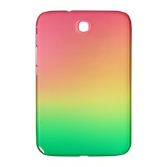 The Walls Pink Green Yellow Samsung Galaxy Note 8 0 N5100 Hardshell Case  by AnjaniArt