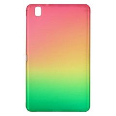 The Walls Pink Green Yellow Samsung Galaxy Tab Pro 8 4 Hardshell Case by AnjaniArt