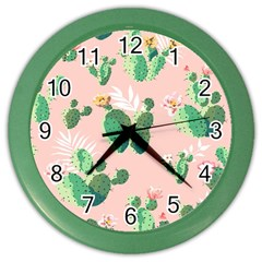 Thorn Color Wall Clocks by AnjaniArt