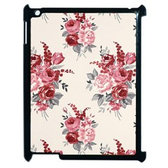 Rose Beauty Flora Apple Ipad 2 Case (black) by AnjaniArt