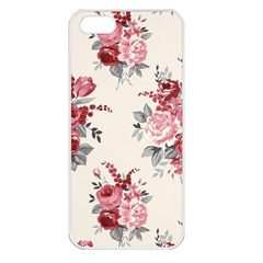 Rose Beauty Flora Apple Iphone 5 Seamless Case (white) by AnjaniArt