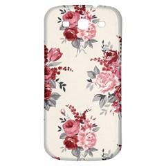 Rose Beauty Flora Samsung Galaxy S3 S Iii Classic Hardshell Back Case by AnjaniArt