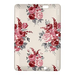 Rose Beauty Flora Kindle Fire Hdx 8 9  Hardshell Case by AnjaniArt