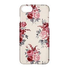 Rose Beauty Flora Apple Iphone 7 Hardshell Case by AnjaniArt
