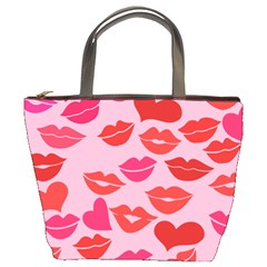 Valentine s Day Kisses Bucket Bags by BubbSnugg
