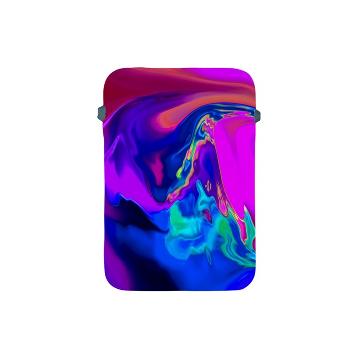 The Perfect Wave Pink Blue Red Cyan Apple iPad Mini Protective Soft Cases