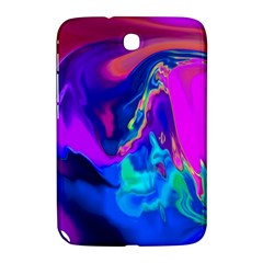 The Perfect Wave Pink Blue Red Cyan Samsung Galaxy Note 8 0 N5100 Hardshell Case  by EDDArt