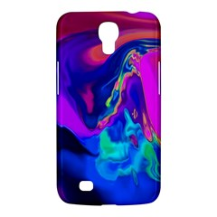 The Perfect Wave Pink Blue Red Cyan Samsung Galaxy Mega 6 3  I9200 Hardshell Case by EDDArt