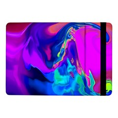 The Perfect Wave Pink Blue Red Cyan Samsung Galaxy Tab Pro 10 1  Flip Case by EDDArt
