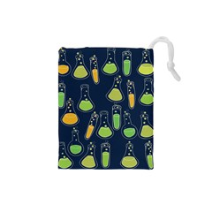 Science Geek Drawstring Pouches (small)  by BubbSnugg