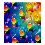 Fishes: Format  Matching Set SHOWER CURTAIN - Shower Curtain 66  x 72  (Large)