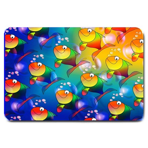 Fishes Doormat Format: Set Matching  Doormat Template s Product By Pamela Sue Goforth   Large Doormat   Jvhrhe00wea7   Www Artscow Com 30 x20 Door Mat - 1