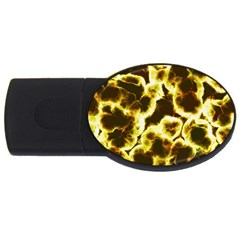 Abstract Pattern Usb Flash Drive Oval (4 Gb)  by Onesevenart